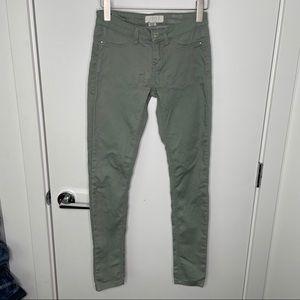 🎁4/20$🎁 mint green skinny jeans